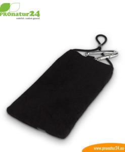 eWall Handytasche mit Strahlenschutz, roteWall Handytasche mit Strahlenschutz, schwarz
