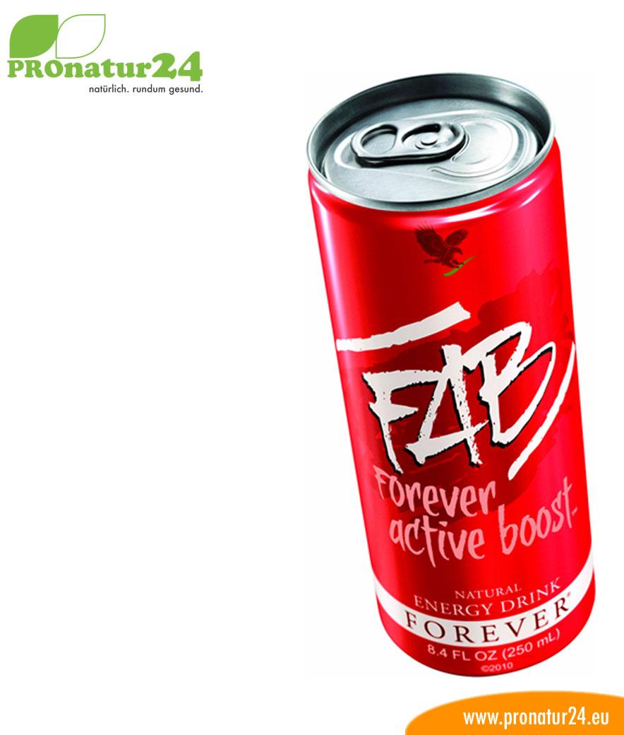 FAB active boost Energydrink mit Aloe Vera
