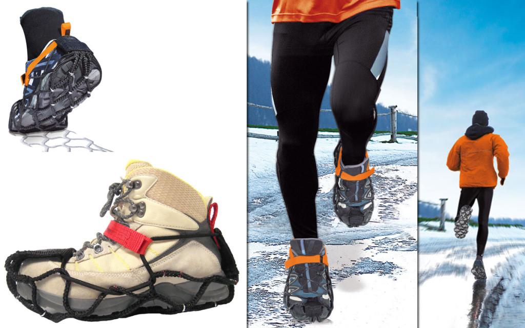 EzyShoes, Sicherheit auf Schnee und Eis