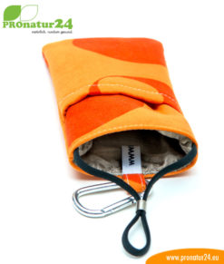 Handytasche eWall, Modell Youngline, orange