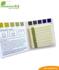 99 Teststreifen zur pH-Wert Kontrolle