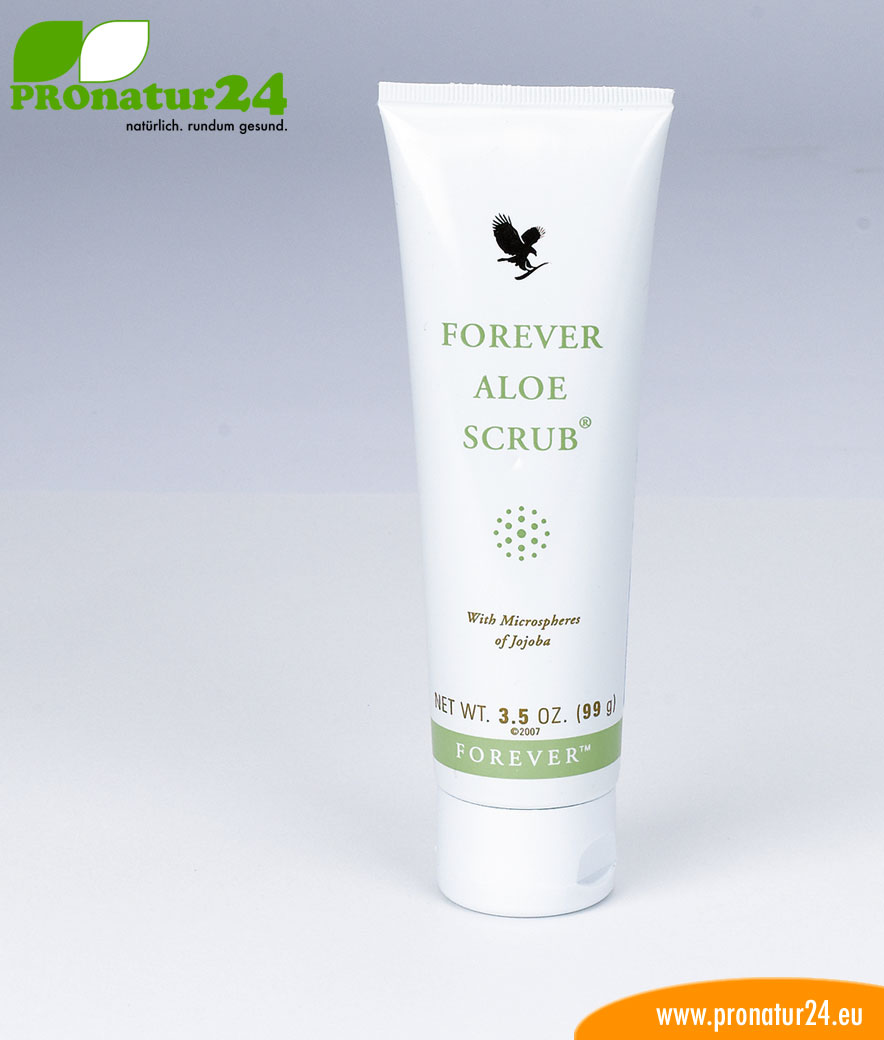 aloe vera scrub peeling creme forever pronatur24 shop. Black Bedroom Furniture Sets. Home Design Ideas