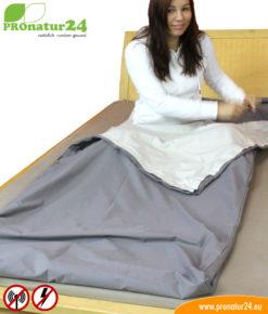 Schlafsack Elektrosmog PRO mit Rundum Schutz vor Elektrosmog