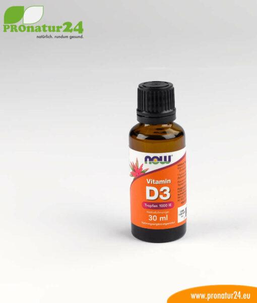 Vitamin D3 flüssig von NOW