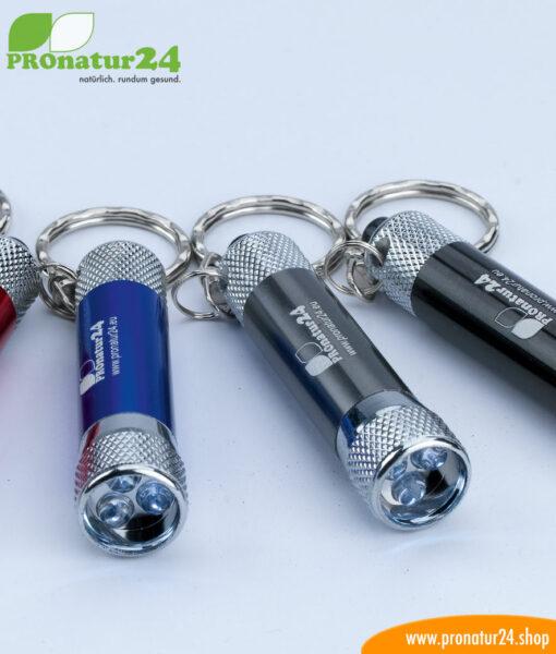 LED Lampe für den Schlüsselanhänger von PROnatur24