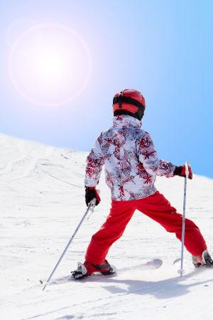 Schifahren, einfach lässig - wenn geschützt!