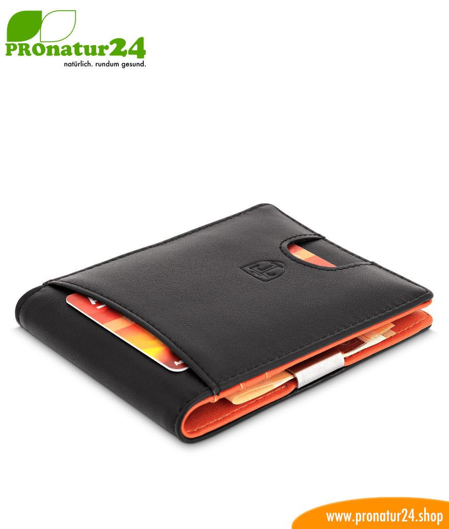 a466dd55e5588 Geldbörsen mit eingebautem RFID NFC Schutz für Männer und Frauen