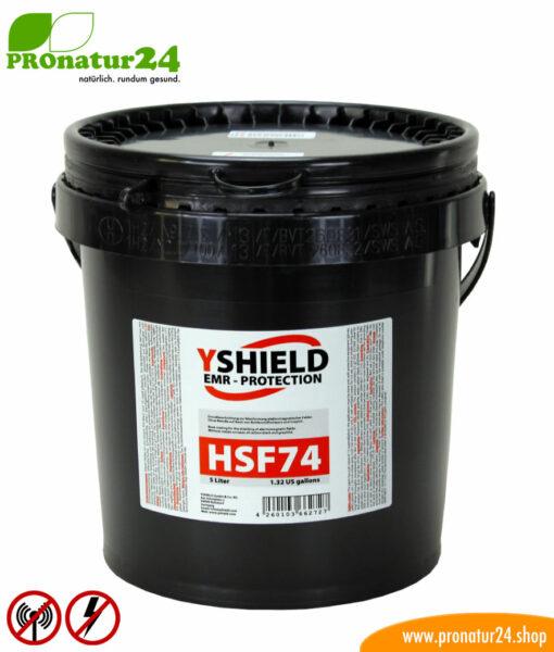 Abschirmfarbe HSF74 von YShield, 5 Liter Gebinde