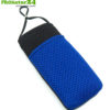 Handyhülle Handytasche eWall schwarz-blau, 3in1 Funktion, wendbar, schwarz-blau