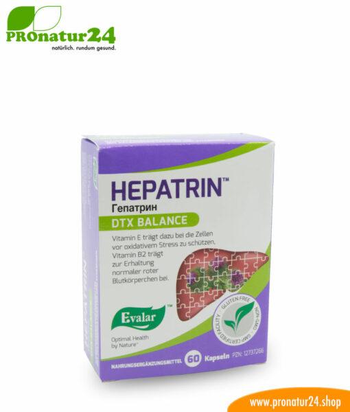 HEPATRIN™ (Гепатрин). Glutenfrei, vegan, ohne Gentechnik, GMP.