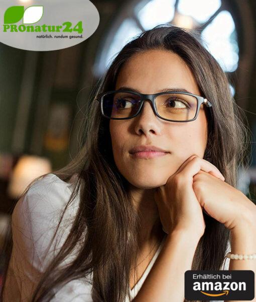 Prospek Blaulichtfilter Brille Dynamic Mit Blendschutz Professionelle Hochwertige Pc Brille Mit Grossem Rahmen Furs Arbeiten Und Spielen Am Computer Schutzt Ihre Augen Vor Blauem Licht Erhaltlich Bei Amazon