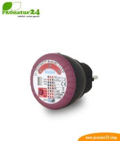 Testavit® Schuki® 1 LCD Steckdosenprüfgerät mit FI/RCD Auslösung. Schneller Check der Erdung und FI-Schalter!