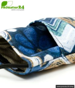 Handytasche eWall im Unikat Design Felix blau, XL